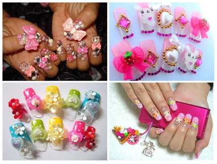 Kawaii Nail Art¸ Nail Art, Nail Designs