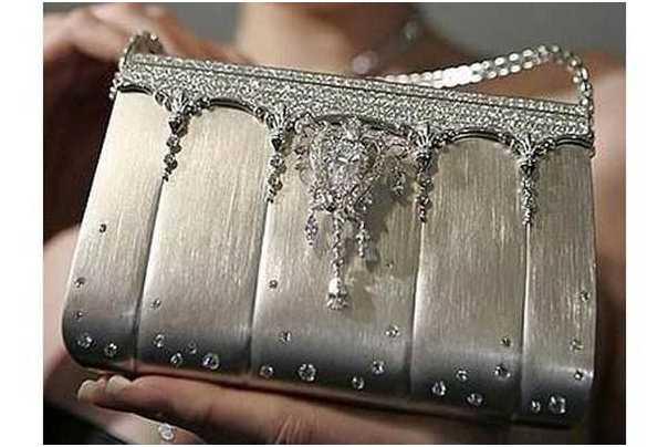 Platinum handbag Ginza Tanaka