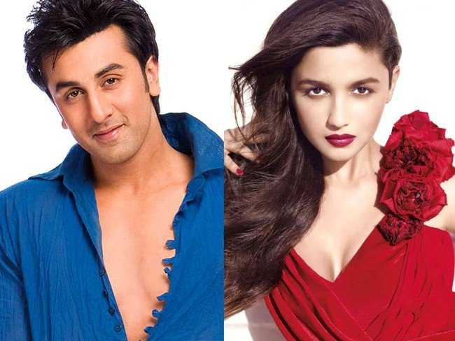 Ranbir Spotted with Alia Bhatt