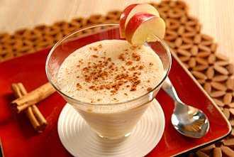 Cinnamon Apple Soya Shake