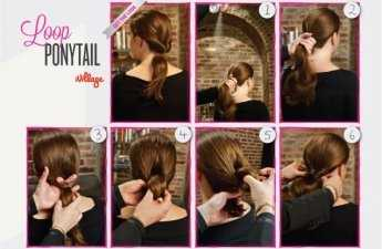 DIY- How to Add Volume to your Ponytail