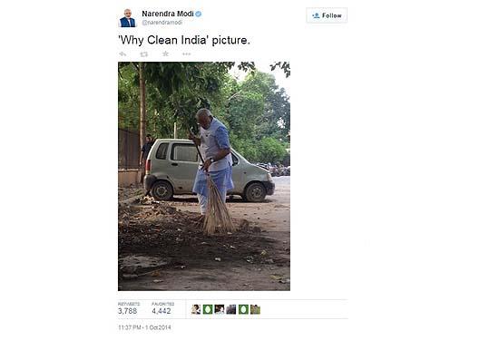 "Swachh Bharat Abhiyaan: Stars ""Clean Up"" Act!"