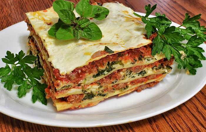 8. Lasagne