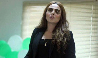 AYYAN ALI DIVES IN MORE CONTROVERSY
