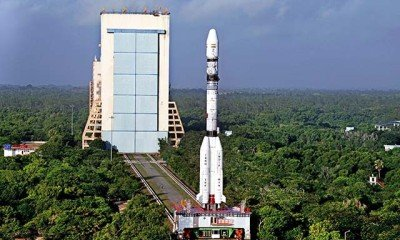 This event took place this evening at 4:52 PM when Indian Satellite launch vehicle – GSLV–D6 took off successfully from the Indian launchpad at Sriharikota island.