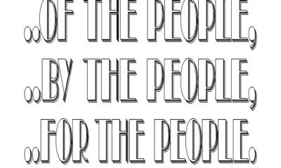 OF THE PEOPLE BY THE PEOPLE FOR THE FEW