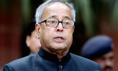 President of India- Pranab Mukharji