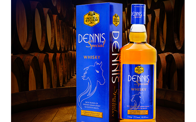 Dennis Special - Peaty Classic Whisky from Rock and Storm Distilleries