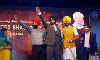 Singh is Bling celebrated Martyr Shaheed Bhagat Singh's Birthday with much Zeal…..