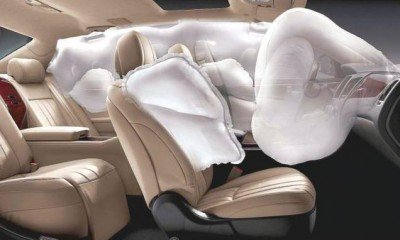Airbags mandatory to improve road safety