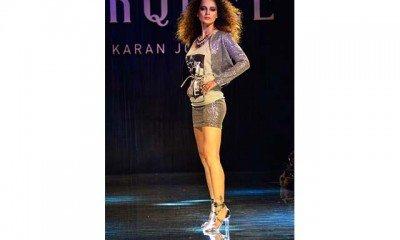 Talented Kangana Ranaut turns a designer for Vero Moda