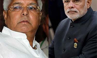 Modi picks up Beef with Lallu!-OneWorldNews