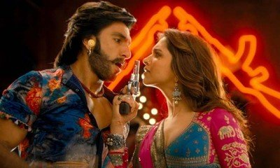 Ranveer and Deepika painting the town with color of love!