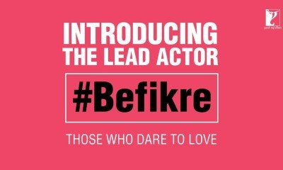 Ranveer Singh the lead actor in Befikre