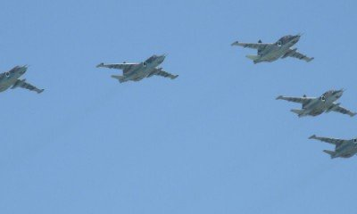 Russia enters Syrian fray with aerial attacks!