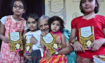 Sudha Murty writes her passion