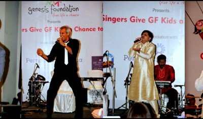 Honchos sing from the heart for destitute kids