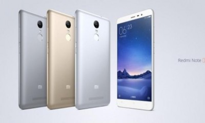 Xiomi storms China with Redmi Note 3