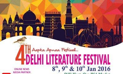 4th DELHI LITERATURE FESTIVAL