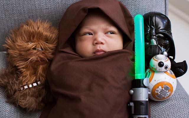 Max in Star Wars costume