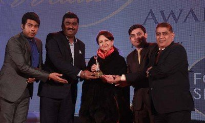 Shripal Rathore, MD. Sourav, Sbodh Bhatt with Sharmila Tagore