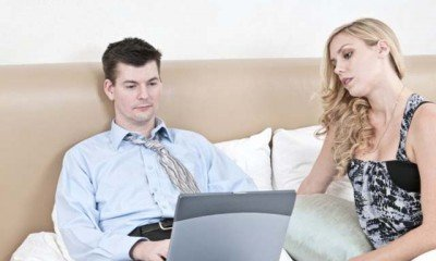 Is your partner a workaholic?