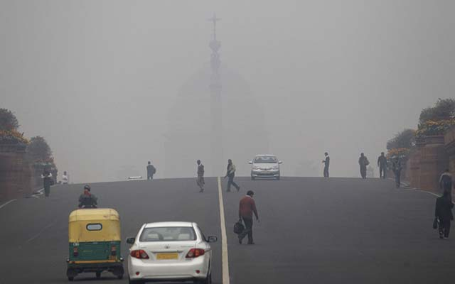 Delhi's killer pollution!