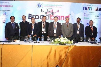 The Government work to connect 2.5 lakh villages with broadband connectivity