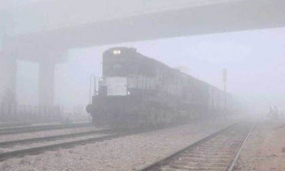Three trains cancelled and 24 delayed due to poor visibility in Northern India!