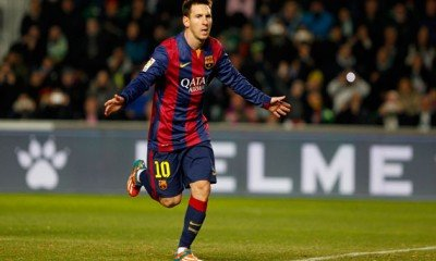Lionel Messi appeared in 500 matches for Barcelona