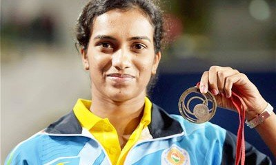 Badminton Player P.V Sindhu