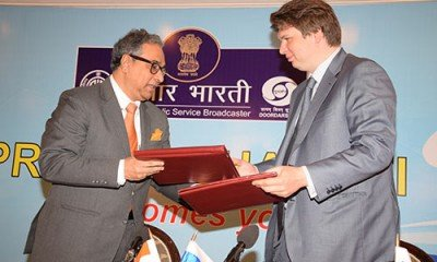 Prasar Bharati and Digital Television Russia will take over assistance in the field of new media
