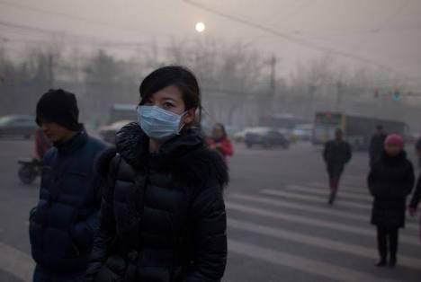 Beijing's second 'red alert' of pollution within a month!