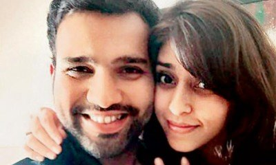 Rohit Sharma with Ritika Sajdeh