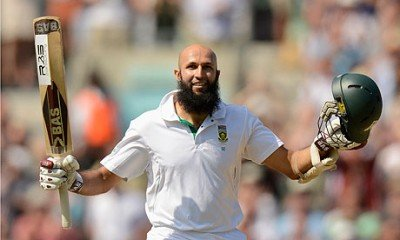 Crucial Innings of Amla worried England at Cape Town