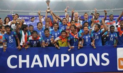 Virat Kohli praised Indian football team for their victory against Afghanistan!