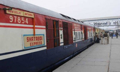 Shatabdi Express once again checked at Kanpur terminal