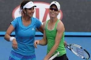 Sania Mirza and Martina Hingis in Sydney Intentional Finals !