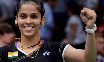 Saina Nehwal won trump match against Delhi Acers