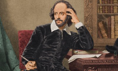A news book has claimed Shakespeare may have had an 'illegitimate' son