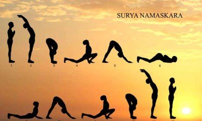 Simple solution to all your problems, its 'Surya Namaskar'