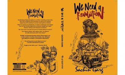 Sachin Garg all set to unveil his new book 'We need a Revolution'
