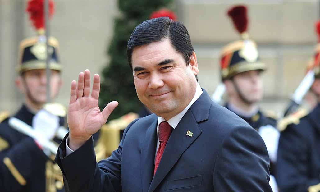 Turkmenistan's Gurbanguly Berdymukhamedov.