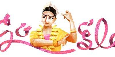 Google celebrates Rukmini Devi's Birthday