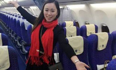 Woman becomes an only passenger in the flight!