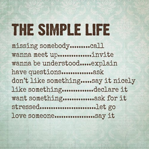 Live simple with these simple life hacks one world news for Simplistic lifestyle