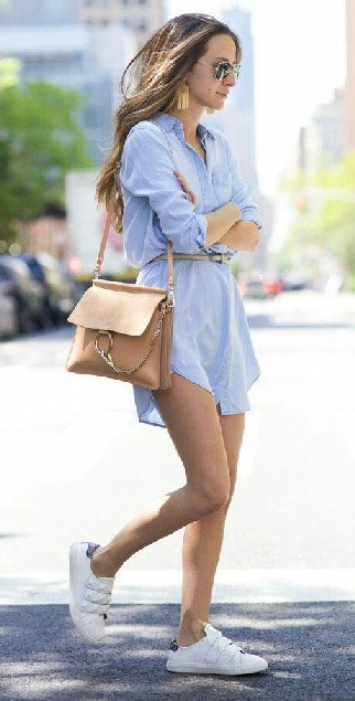 Borrow your Boyfriend's Shirt And Rock the Baggy Look!