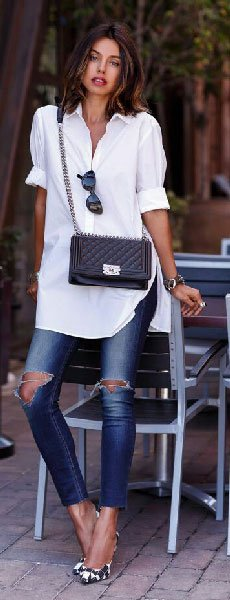 Borrow your Boyfriend's Shirt And Rock the Baggy Look!