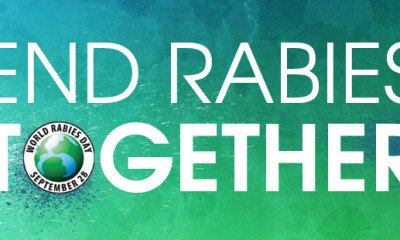 28 September marks World's Rabies Day