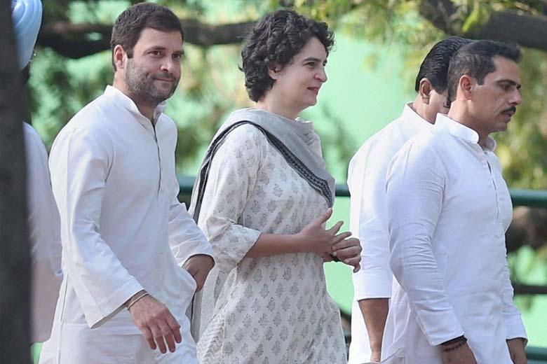 """I trust my sister"", says Rahul Gandhi"
